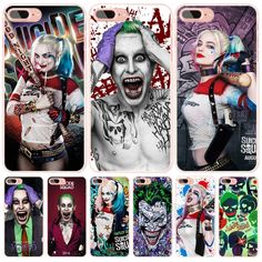 suicide squad Joker harley quinn cell phone Cover case for iphone 6 4 4s 5 5s SE 5c 6 6s 7 plus case for iphone 7 //Price: $12.99 & FREE Shipping // #arkhamknight #superman #wonderwoman #thedarkknight #superheroes #harley #margotrobbieharleyquinn