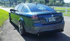 Holden Commodore VE SSV conversion with Adventus AVS-3 wheels