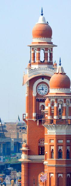 Ghanta Ghar, The Clock Tower of Multan, Pakistan