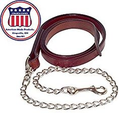 Horse Show Leads in Leather or Poly