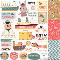 Leading Illustration & Publishing Agency based in London, New York & Marbella. Scrapbook Supplies, Scrapbook Paper, Gina Lorena, Planner Sheets, Animal Magic, Surface Pattern Design, Pattern Designs, Cute Doodles, Exercise For Kids