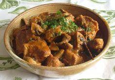 Les paniers de mariette - Mijoté de veau aux champignons
