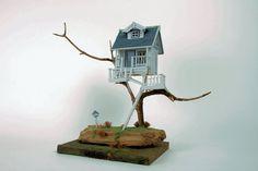 model tree house - Google Search