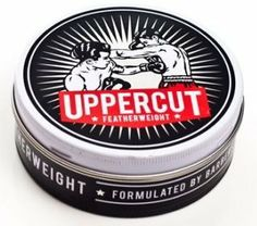 Uppercut Featherweight Pliable Paste by Uppercut Barber Supplies. $25.00. Don't be fooled by the name, this wax is light but it still packs a punch.  Featherweight has plenty of tack and a dry finish for a natural looking hold.  Great for messy and textured styles.  Best of all, it's water soluble which means it washes straight out without any buildup or residue.  Without a doubt, the great all rounder.  Uppercut is a product line developed by barbers.  Traditional barberin...