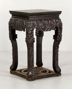 Chinese Zitan Stand Asian Collections Auction | Kaminski Auctions 2/22