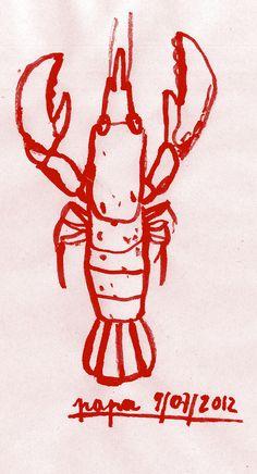 Un plateau à homard: beau cadeau en perspective pour papa!                                                                                                                                                      Plus