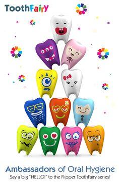 Teeth Characters