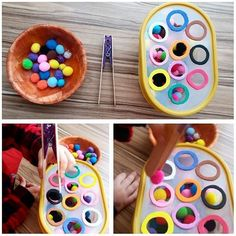 101 Montessori Ideas 101 Montessori Ideas for your . - 101 Montessori Ideas 101 Montessori ideas for your children to learn and h - Motor Skills Activities, Toddler Learning Activities, Montessori Activities, Infant Activities, Kids Learning, Montessori Kindergarten, Montessori Toddler, Baby Sensory, Montessori Materials