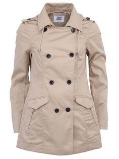Vero Moda - Béžový kabát  Hotspot - 1