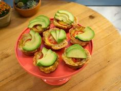 Get Avocado-Tomato Breakfast Tot Cups Recipe from Food Network- Can make these with cauliflower tots!