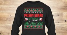If You Proud Your Job, This Shirt Makes A Great Gift For You And Your Family.  Ugly Sweater  Prison Guard, Xmas  Prison Guard Shirts,  Prison Guard Xmas T Shirts,  Prison Guard Job Shirts,  Prison Guard Tees,  Prison Guard Hoodies,  Prison Guard Ugly Sweaters,  Prison Guard Long Sleeve,  Prison Guard Funny Shirts,  Prison Guard Mama,  Prison Guard Boyfriend,  Prison Guard Girl,  Prison Guard Guy,  Prison Guard Lovers,  Prison Guard Papa,  Prison Guard Dad,  Prison Guard Daddy,  Prison Guard…