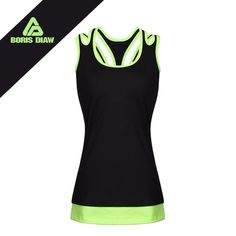 Find More Yoga Shirts Information about Yoga Top Shirt Sports Suit For Women Breathable Sleeveless Hollow Out Running Sportswear Contrast Fitness Vest Jogging Femme ,High Quality yoga top,China running sportswear Suppliers, Cheap top yoga from BORIS DIAW Store on Aliexpress.com