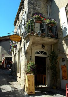Confectionery shop in Grignan, Provence, France by maki, via Flickr