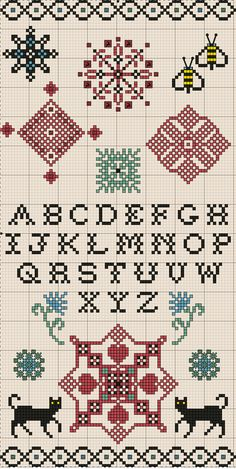 January 2011 Quaker free chart on Embroiderbee's  Primary Hive at http://embroiderbee.wordpress.com/2011/01/19/january-2011-quaker-free-personal-use-chart/