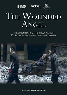 Раненый ангел Ranenyy Angel (The Wounded Angel) by Emir Baigazin. #Berlinale2016 Panorama. Poster.