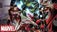 Was passiert, wenn die Ur-Avengers mit Hank Pym und Wasp auf die aktuellen Mitglieder des Teams treffen, und es manche dann sogar doppelt gibt? A.I.M. spielt mit den Grenzen zwischen den Universen ...