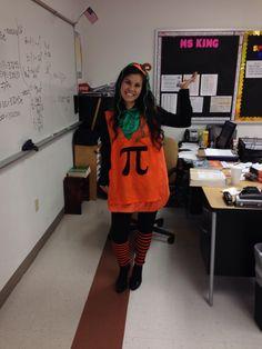 Halloween costume for math teachers!!