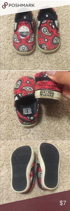 Harajuku Lovers slip on sneakers Slip on sneakers in black and red print Harajuku Lovers Shoes Sneakers