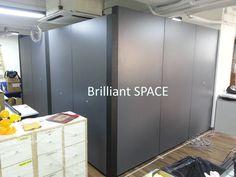 Glass System Wall 黃竹坑IT公司 (雙面板不上頂屏風) 9