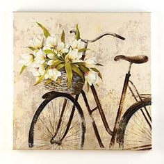 Panier de Fleurs Canvas Art Print | Kirkland's...bought and LOVE it!!!