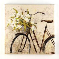 Panier de Fleurs Canvas Art Print   Kirkland's...bought and LOVE it!!!
