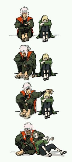 jiraiya and tsunade Jiratsu Anime Naruto, Naruto Run, Naruto Teams, Naruto Girls, Manga Anime, Anime Meme, Tsunade And Jiraiya, Lady Tsunade, Naruko Uzumaki