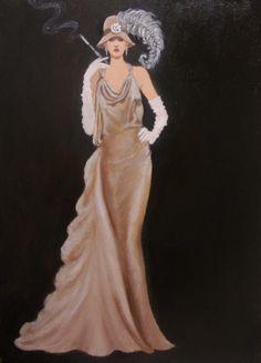 Art Deco Elegance by dian bernardo