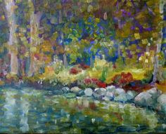 """Daily Paintworks - """"Reflections"""" by Maggie Flatley"""