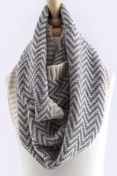 Chevron scarf from piece clothing boutique