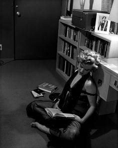 1952.  Marilyn Monroe, by Philippe Halsman.