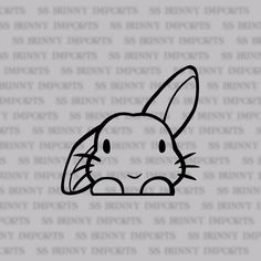 This cute little half lop rabbit will watch everyone for you over its paws! This decal looks great on light-colored laptop lids. Product dimensions available: * 2 W x 1.88 H / 5.08 cm x 4.77 cm * 3 W x 2.81 H / 7.62 cm x 7.15 cm * 4 W x 3.75 H / 10.16 cm x 9.53 cm * 5 W x 4.69 H /