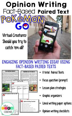 Paired text essay personal