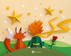 "Check out this @Behance project: ""Le Petit Prince"" https://www.behance.net/gallery/48740779/Le-Petit-Prince"