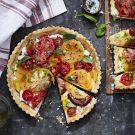 Try the Heirloom Tomato Tart with Ricotta and Basil Recipe on williams-sonoma.com/