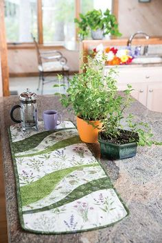 EZ Breezy Herb Runner Quilt Pattern