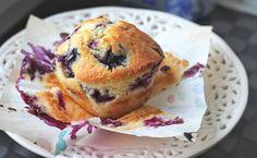 Moist Buttermilk Blueberry muffin recipe