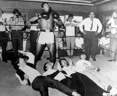 The Beatles meet Muhammad Ali, 1964