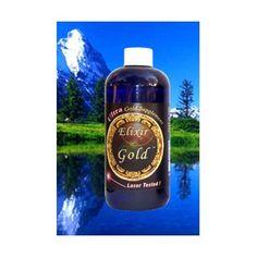 """""""Elixir of Gold"""" Ultra Colloidal Gold 240 ppm 16 Oz."""
