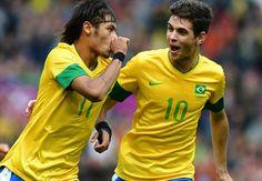 Oscar and Neymar.
