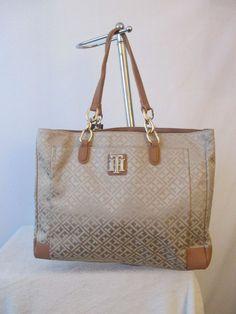 Tommy Hilfiger Handbag NS Tote Color Beige 6932573 235 Retail Price $ 99.00 #TommyHilfiger #TotesShoppers