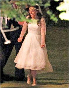 Retrô - Casamento de famosos 2012. Natalie Portman e Benjamin Millepied