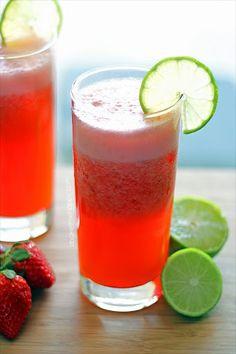 Strawberry Limeade Recipe | Yummly