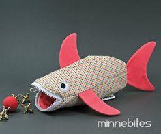 Baby Marabelle Shark by MinneBites / Handmade Shark by minnebites, $39.00