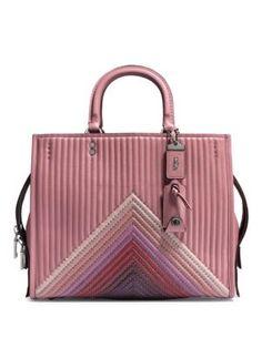COACH 1941 Colorblock Leather Handbag. #coach1941 #bags #shoulder bags #leather #