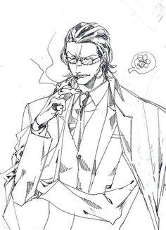 Sir Crocodile One Piece Man, One Piece Comic, One Piece Anime, Cute Anime Guys, Awesome Anime, Sir Crocodile, Best Anime Shows, Illustrations, Anime Artwork