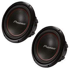 2-X-Pioneer-TS-W304R-12-Single-4-ohm-Car-Audio-Subwoofer-System-2600W-Stereo-Pair-Subs-0