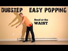 Basic Choreography Tutorial: DUBSTEP music, POPPING dance routine (hip hop?) - YouTube