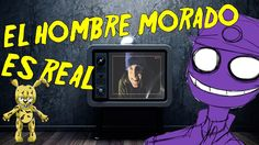 EL HOMBRE MORADO Y SPRINGTRAP EN LA VIDA REAL (real life) | video reacci... Fnaf, Videos, Youtubers, Sewing, Real Life, Cute Cartoon Drawings, Men, Dressmaking, Couture