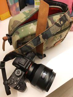 #amode #camerabag #smallcamerabag #spx02 #OCPCamo #camo #A7M3 Small Camera, Camo, Fashion Styles, Camouflage, Military Camouflage