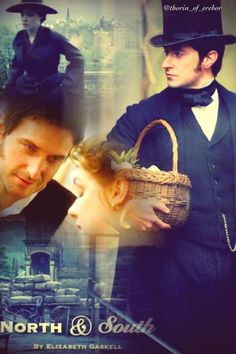 North & South directed by Brian Percival, TV Mini-Series, 2004) #elizabethgaskell #fanart Best Love Stories, Love Story, Elizabeth Gaskell, John Thornton, Bbc Drama, Tv Show Music, Look Back At Me, 12 November, English Movies